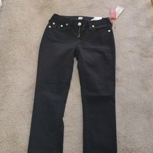 True Religion curvy skinny NWT black jeans